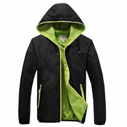 Amcupider Big Boys Hooded Rain Quick Dry Jacket Windbreaker