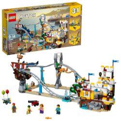 LEGO Creator 3in1 Pirate Roller Coaster 31084 Building Kit 923 Piece