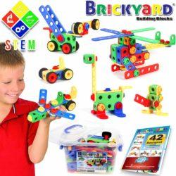 101 Piece STEM Toys Kit Educational Construction Engineering Building Blocks Learning Set